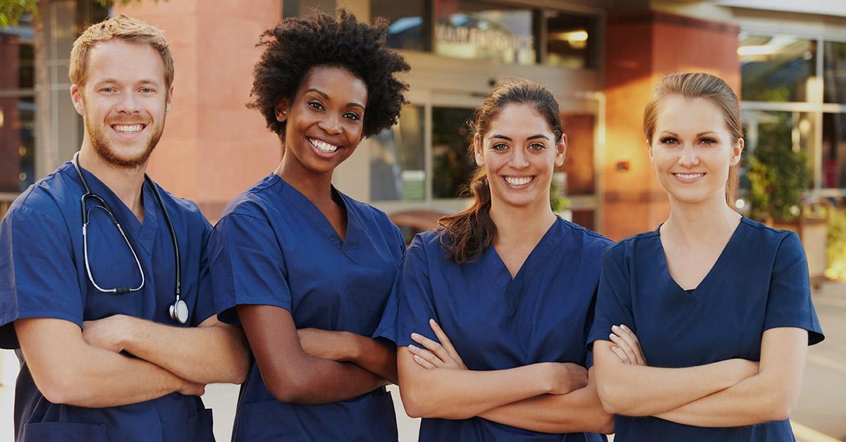 Black nurse takes care of white patient - 3 part 4